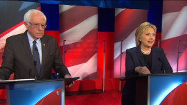 Hillary Clinton to Bernie Sanders on her Wall Street ties: 'Enough is enough'