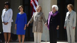 New book 'First Women' said to reveal private lives of America's first ladies