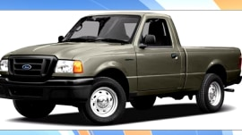 390,000 Ford Ranger pickups being recalled for Takata air bags