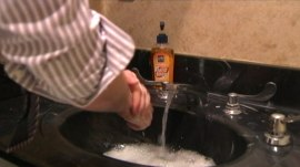 Study: Antibacterial soap no more effective than regular soap