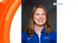 Buffalo Bills hire first full-time female assistant coach in NFL history