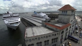 Cruise ship cleared to set sail for Cuba for first time in 50 years