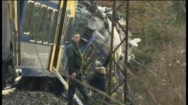 German train collision: At least 8 killed, 150 injured in crash