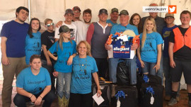 'Sad Papaw' has a reason to smile after huge cookout in his honor