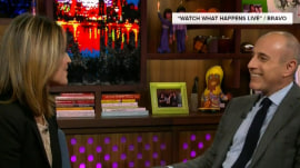 Matt Lauer and Savannah Guthrie show Andy Cohen how well they're matched