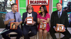 T.J. Miller and 'Deadpool' cast dazzle TODAY in goofy quiz game