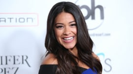 Gina Rodriguez offers fan her 2015 Golden Globes dress to wear to prom