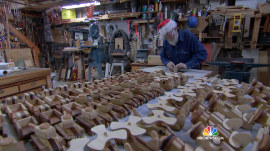 Modern Day Geppetto Brings Christmas Cheer to Kids in Need