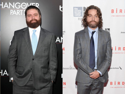 Zach Galifianakis 2013 Weight Loss Zach Galifianakis shows offZach Galifianakis Weight Loss 2013