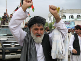 Image: Pak-Afghan border dispute