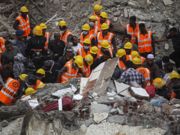 Image: Mumbai building collapse