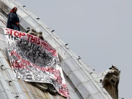 Image: VATICAN-ECONOMY-AUSTERITY-PROTEST