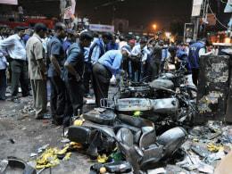 Image: INDIA-BLASTS