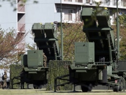 Image: Japan sets up missile system to counter North Korea's ballistic missile