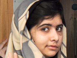 Image: Pakistani victim of Taliban attack Malala Yousufzai discharged from hospital