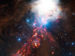 Image: An APEX view of star formation in the Orion Nebula