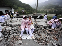 Image: CHINA-QUAKE