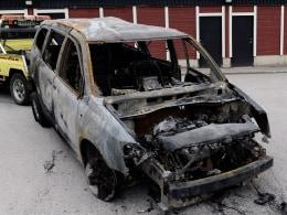 Image: SWEDEN-RIOT-SOCIAL-POLICE