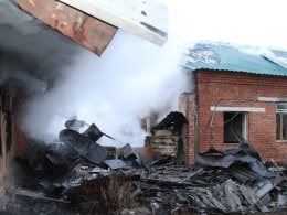 Image: At least 38 dead in Russian psychiatric hospital fire