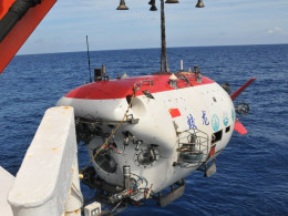 Image: China's Record Setting Deep-sea Submersible Jiaolong