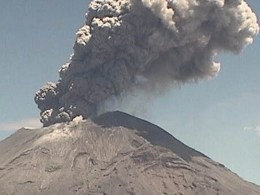 Image: POPOCATEPETL VOLCANO ACTIVITY