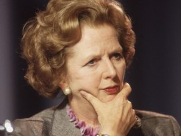 Image: FILE: Baroness Thatcher Dies Aged 87