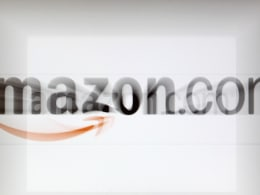 Image: File photo of zoomed image of a computer screen showing the Amazon logo is seen in Vienna