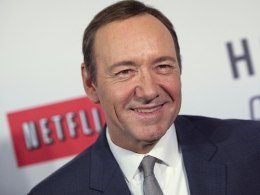 "Image: Actor Kevin Spacey arrives at the premiere of Netflix's television series ""House of Cards"" at Alice Tully Hall in the Lincoln Center in New York City"