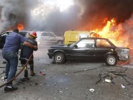 Image: LEBANON-UNREST-EXPLOSION
