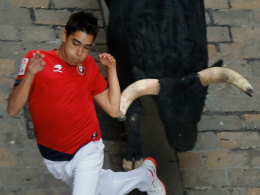 Image: Fiesta De San Fermin Running Of The Bulls - Day 4