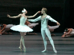 Image:David Hallberg, the first American to be named a Bolshoi principal dancer.