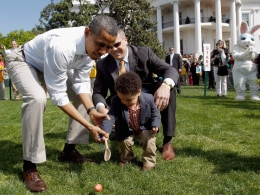 Image: President And Mrs. Obama Host Annual Easter Egg Roll At White House