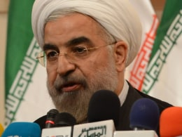 Image: President Elect Hassan Rouhani Holds His First Press Conference