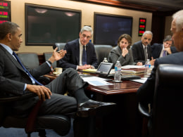 Image: President Obama Meets With National Security Team