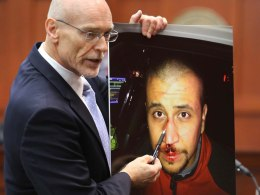 Image: George Zimmerman trial - 11th day