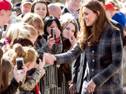 Image: Earl And Countess Of Strathearn Visit Scotland