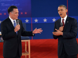Image: US-VOTE-2012-DEBATE