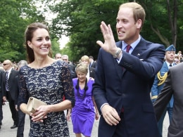 Image: The Duke And Duchess Of Cambridge Canadian Tour - Day 1