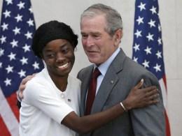 Image: George W. Bush, Mondell Bernadett Avril