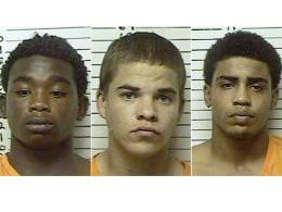 Image: Chancey Luna, Michael Jones, James Edwards Jr