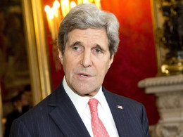 Image: John Kerry, Laurent Fabius