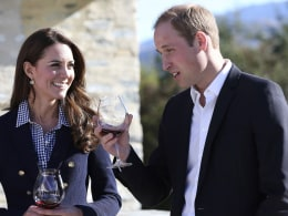 Image: William, Kate
