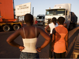 Image: Border crossing in Zambia