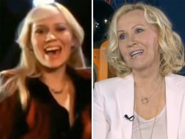 Image: Swedish singer Agnetha, formerly a member of the band ABBA