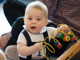 Image: Prince George's First Birthday