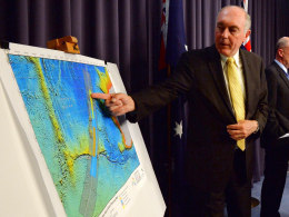 Image: New search area announced in hunt for missing MH370