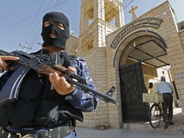 Image: IRAQ-UNREST-CHRISTIANS