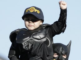 Image: Batkid Captures Hearts In San Francisco
