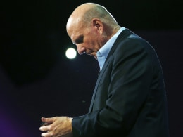Image: FILE: Microsoft CEO Steve Ballmer To Retire