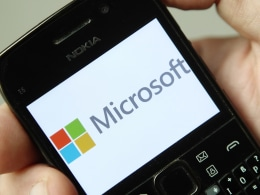 Image: The Microsoft logo is displayed on a Nokia phone in Vienna